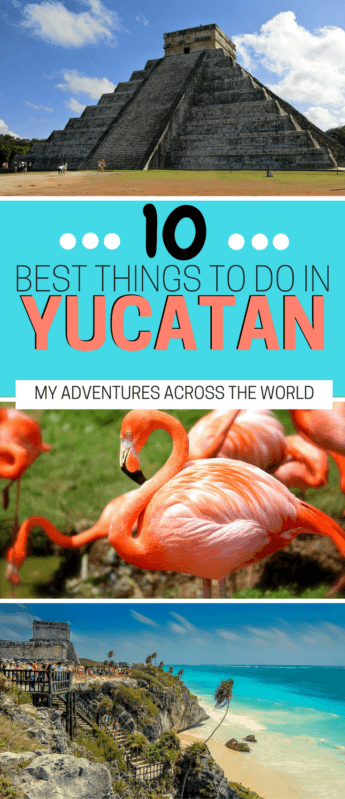 Learn about the 10 best things to do in Mexico's Yucatan - via @clautavani
