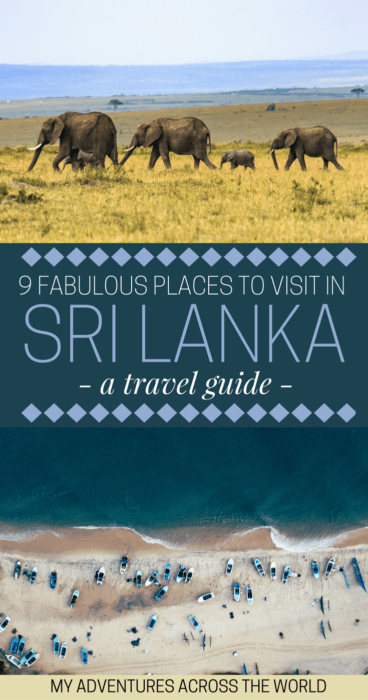 Discover the places to visit in Sri Lanka - via @clautavani