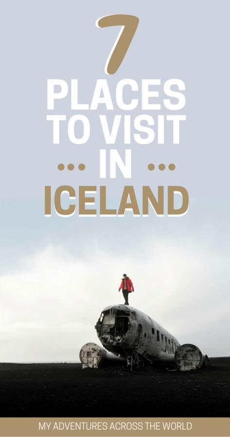 Discover 7 great places to visit in Iceland - via @clautavani