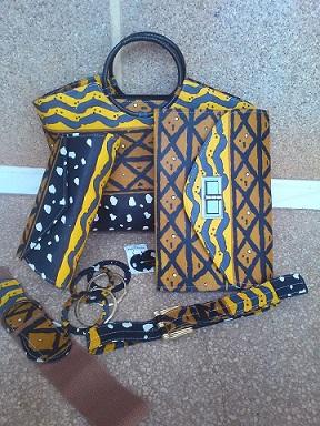 Togo / GK Domé Création : tous vos accessoires en pagne !