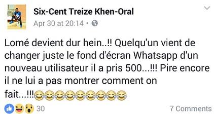 Togo: La naissance des techniciens WhatsApp, une histoire intrigante !
