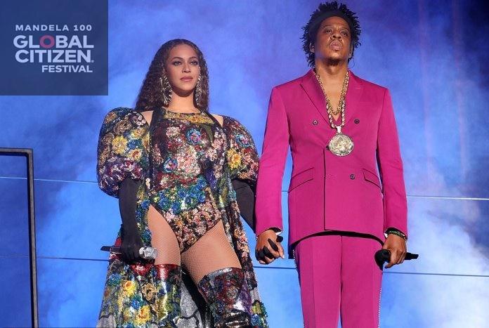 Afrique du Sud / Beyonce,Jay-Z ,Usher, Ed Sheeran au concert géant dédié à Nelson Mandela