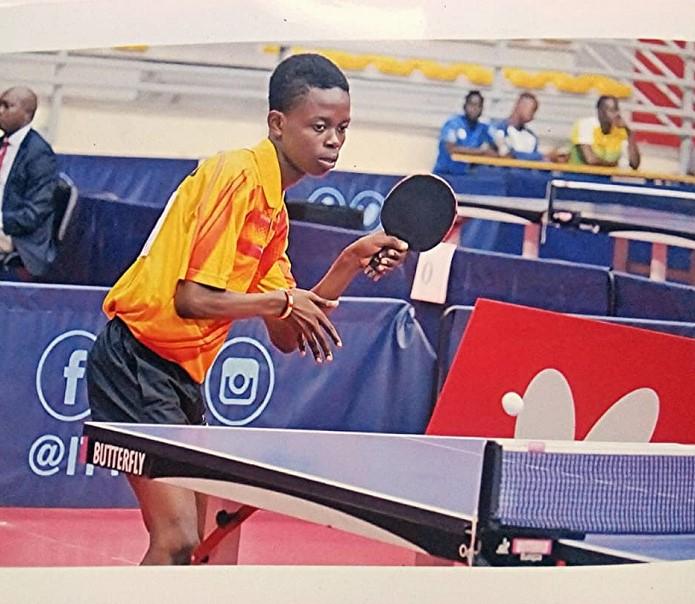 Togo/Tennis de table : Akakpo Désiré, l'image de la renaissance du ping-pong au Togo