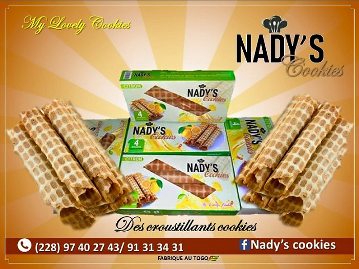 Togo/ Nady's Cookies; des gaufrettes made in Togo