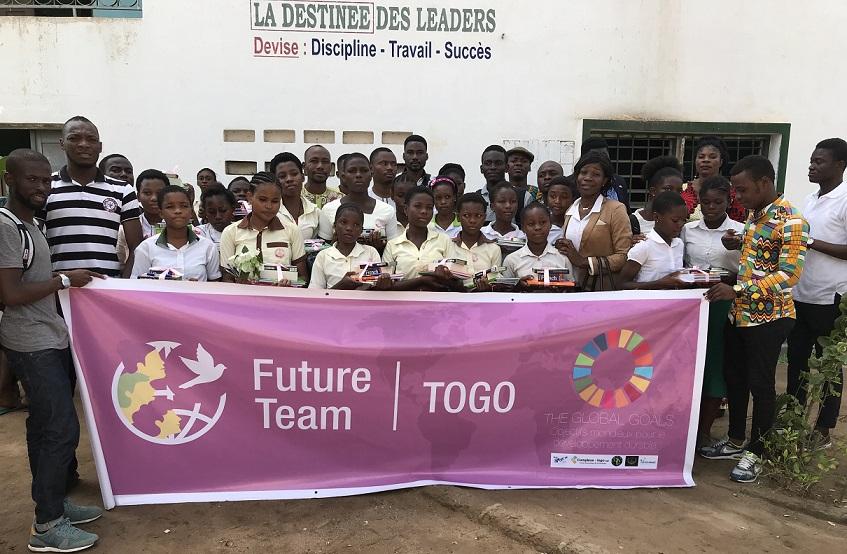 """Togo/ """"Futur Team Togo"""" missionne pour le développement social"""
