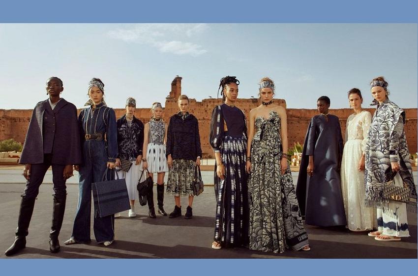 Coup de coeur entre Uniwax de Yopougon et l'irrésistible Dior.