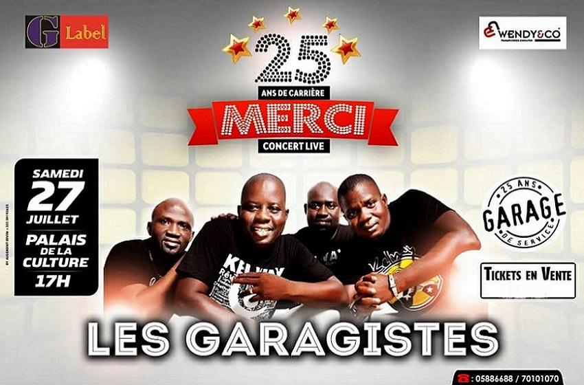 Côte d'Ivoire/ 25 ans de vie carrière ; Les Garagistes en concert Live