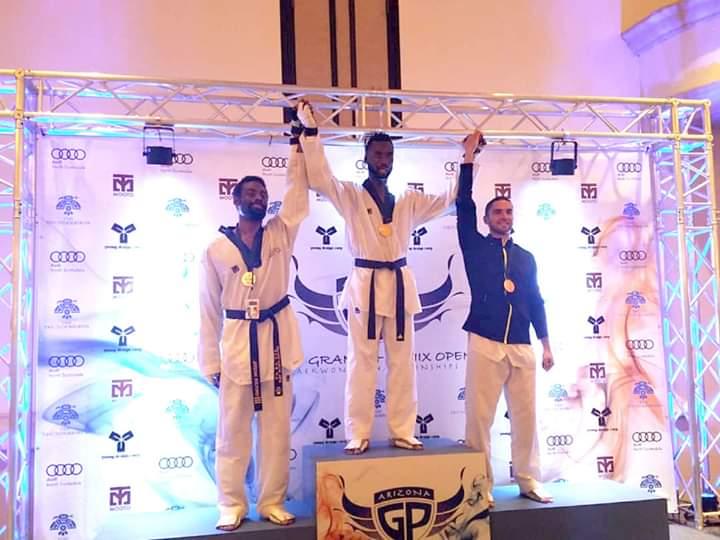 Taekwondo/Rostand Kiki décroche l'or à l'Open de Phoenix