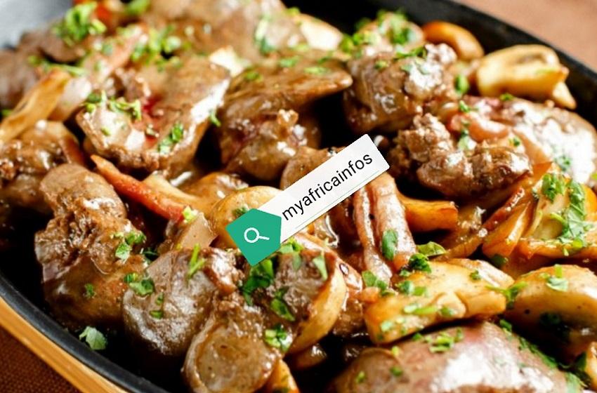 Cuisine/ Recette de la semaine: Du foie de porc aux champignons