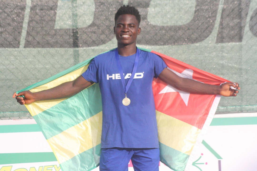 Circuit junior ITF/CAT/: Charles Alipoe Tchotchodi du Togo sacré
