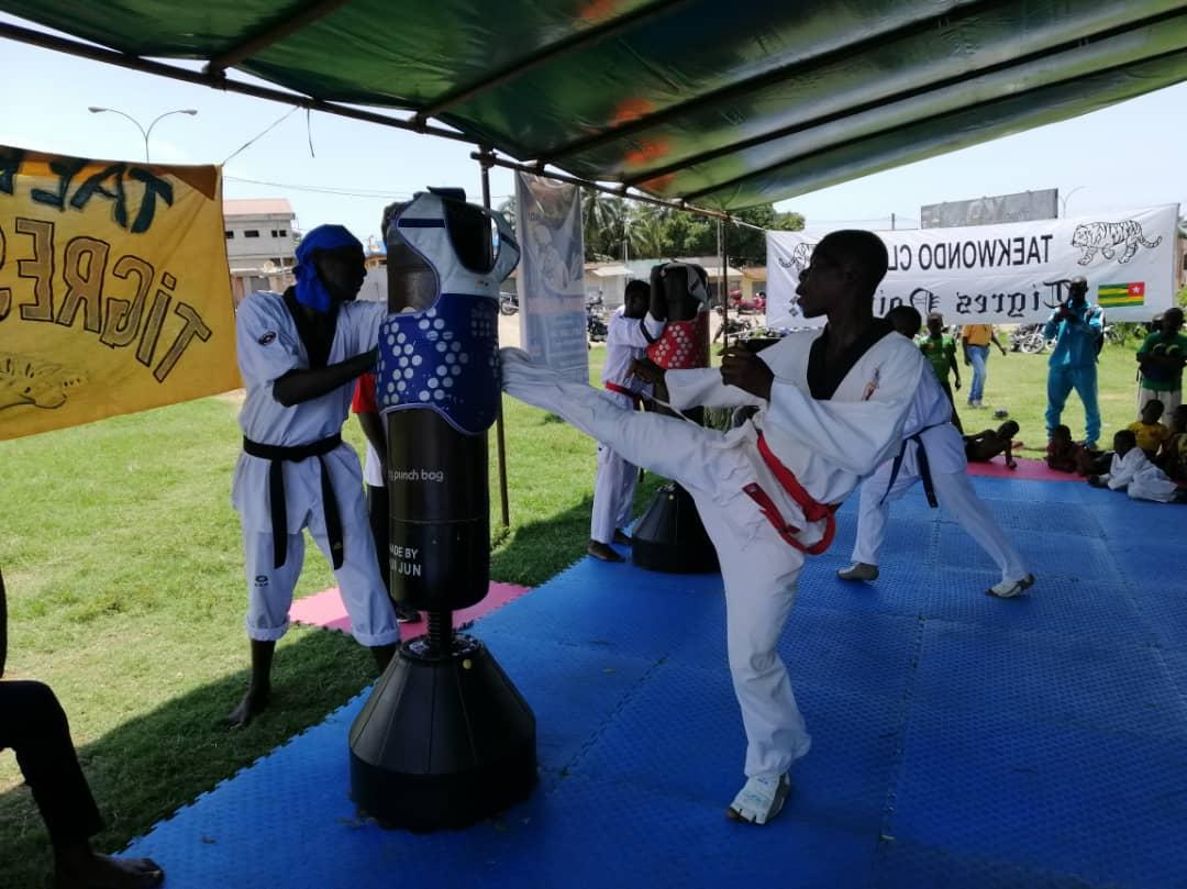 Taekwondo/La compétition sur cible en expérimentation à Lomé