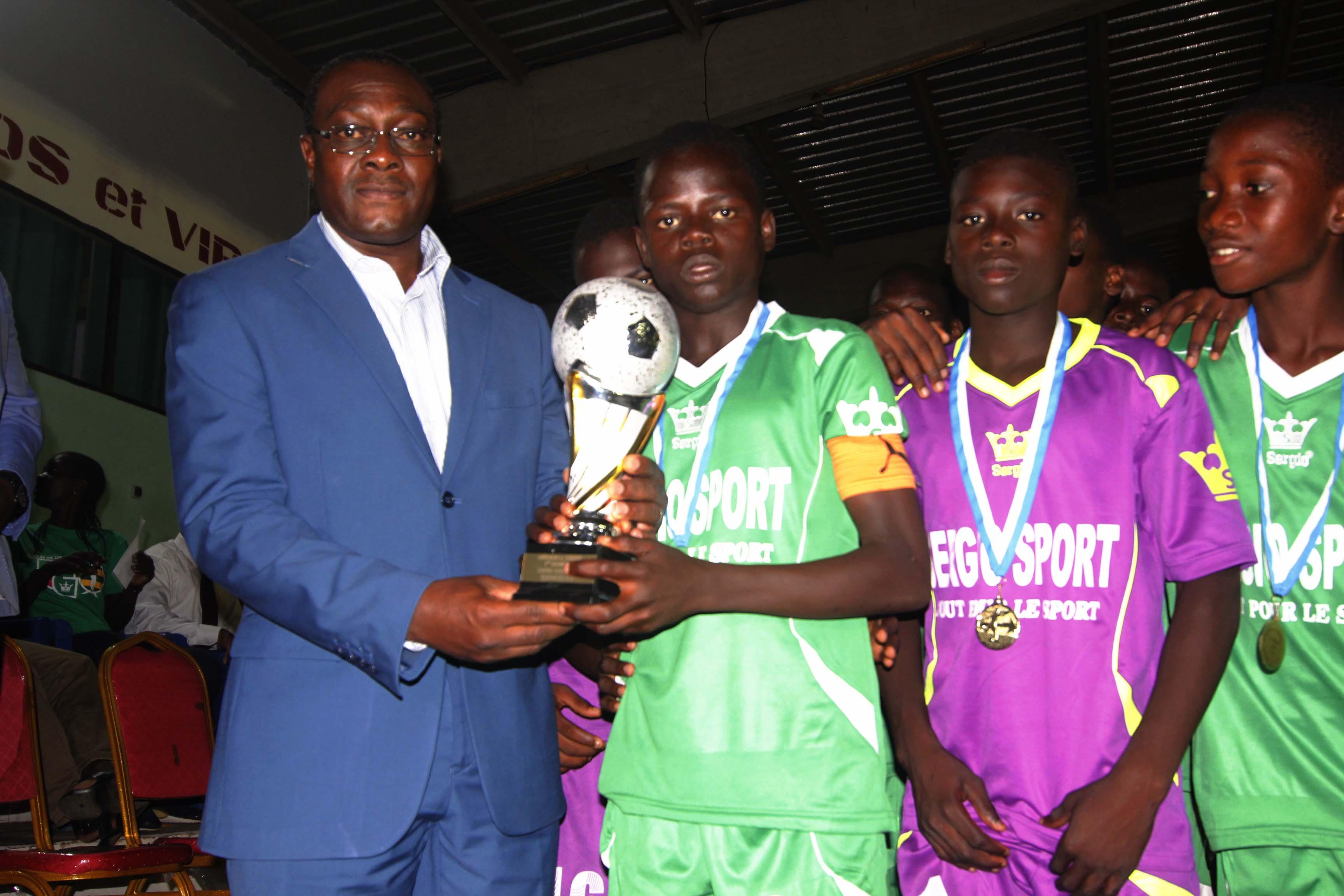 Togo:«Trophée Sergio Sport »: Deux titres pour Planète Foot de Lomé