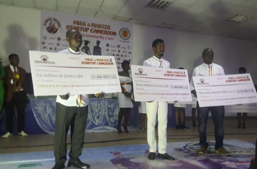 La 1ere édition du concours  Miss & Master start-up a tenu ses promesses à Douala
