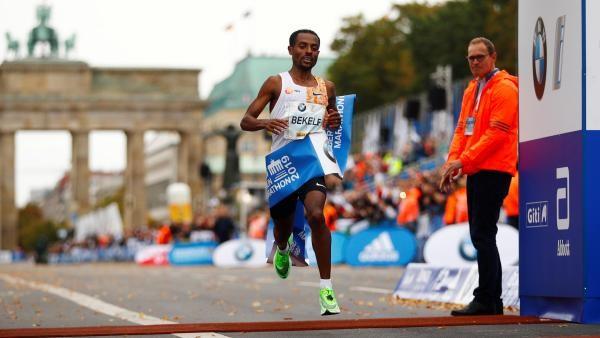 Marathon de Berlin: L'Éthiopien Bekele 2e performeur mondial