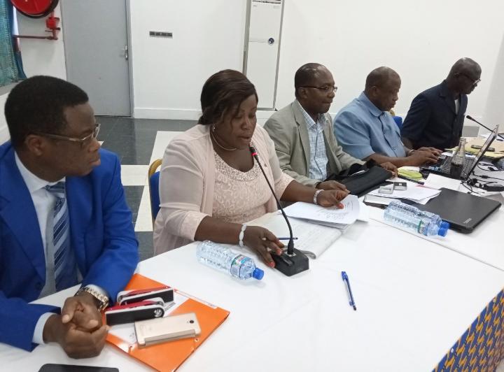 Dédé Akpédjé Mensan en conférence