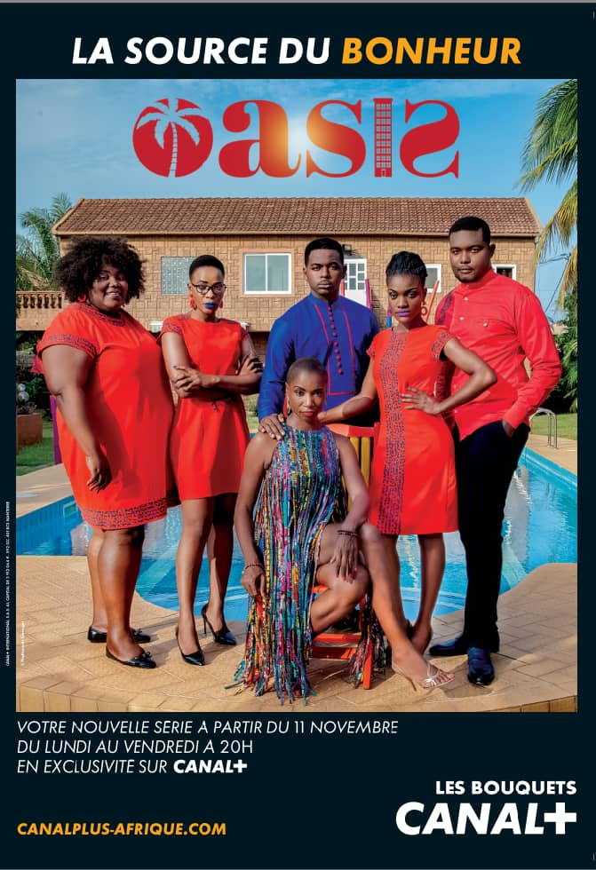 """Togo/Cinéma: """"Oasis"""" après """"Hospital IT"""": la nouvelle série de Yobo Studios en exclusivité sur Canal+"""