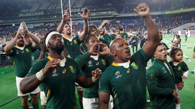 Mondial de rugby 2019/L'Afrique du Sud rejoint l'Angleterre en finale
