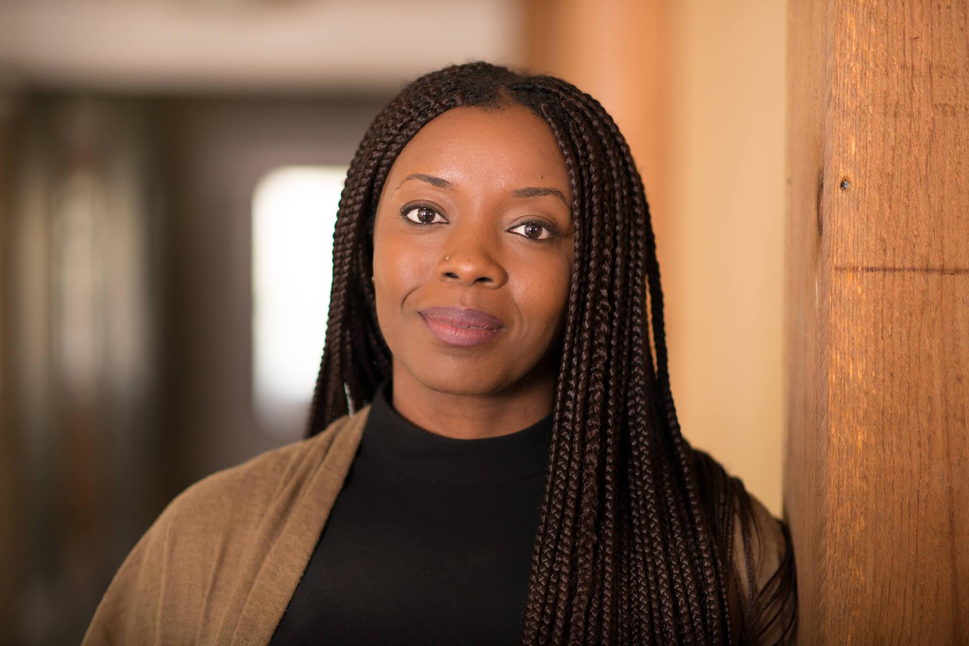 """Prix LafargeHolcim 2020 pour l'Afrique et le Moyen-Orient: la fondatrice de """"masōmī"""" (Niger), presidente du jury."""