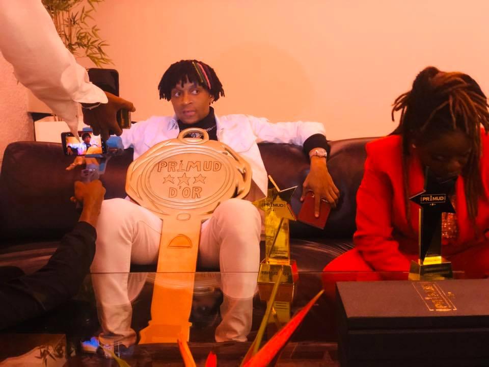 Safarel Obiang, grand lauréat du Primud 2019
