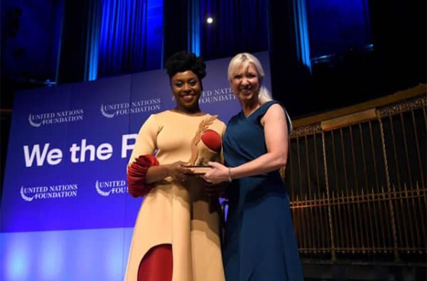 UN Global Leadership Award/ Chimamanda Ngozi Adichie parmi ceux dont le travail a façonné notre monde, ces  300 dernières années