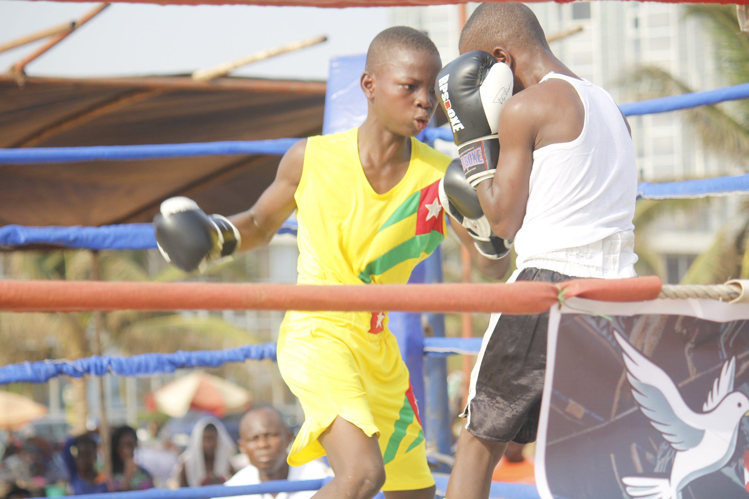 Togo/ CBC aide à la réinsertion sociale des jeunes de la rue par la boxe