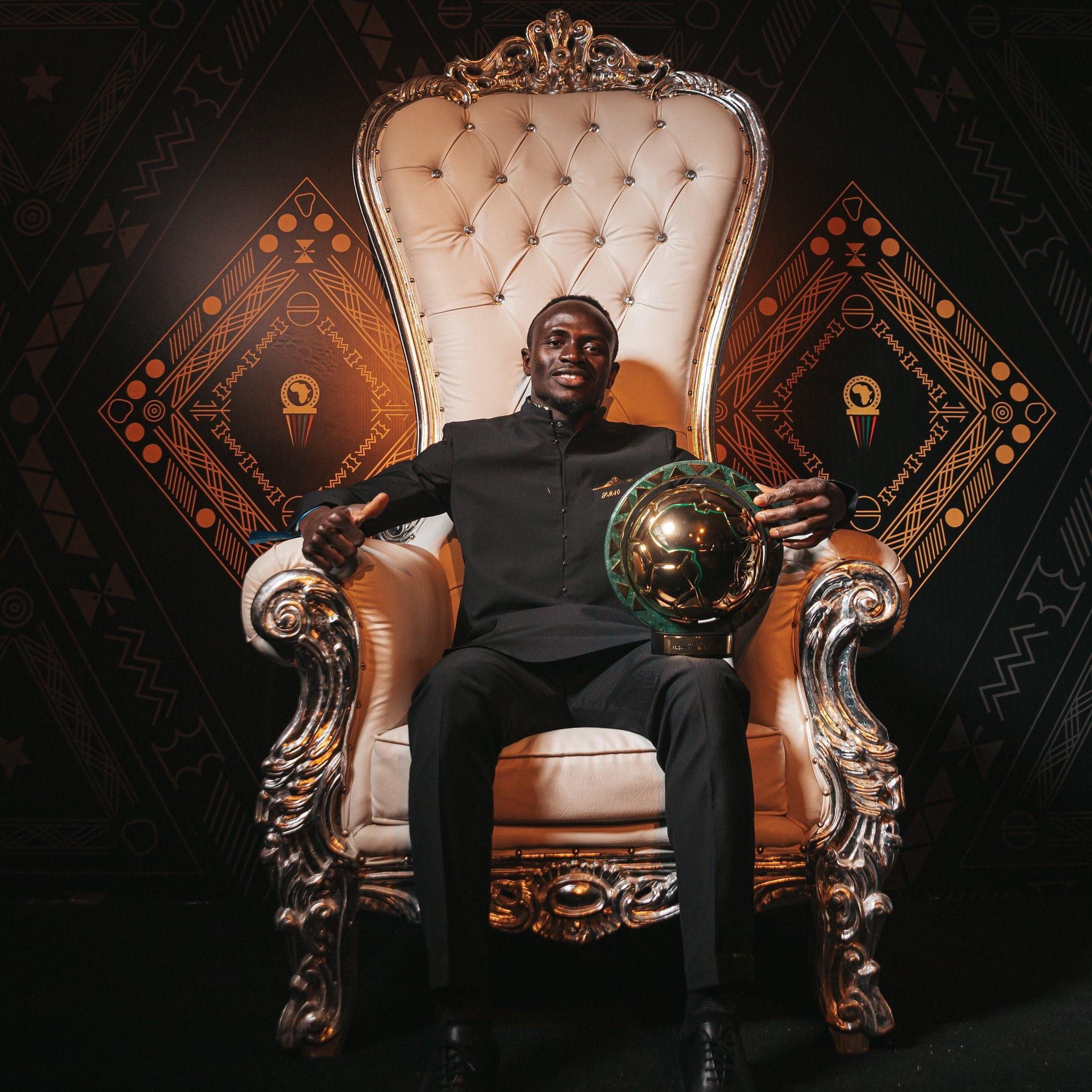 CAF Awards: Sadio Mané élu Meilleur joueur africain de l'année 2019