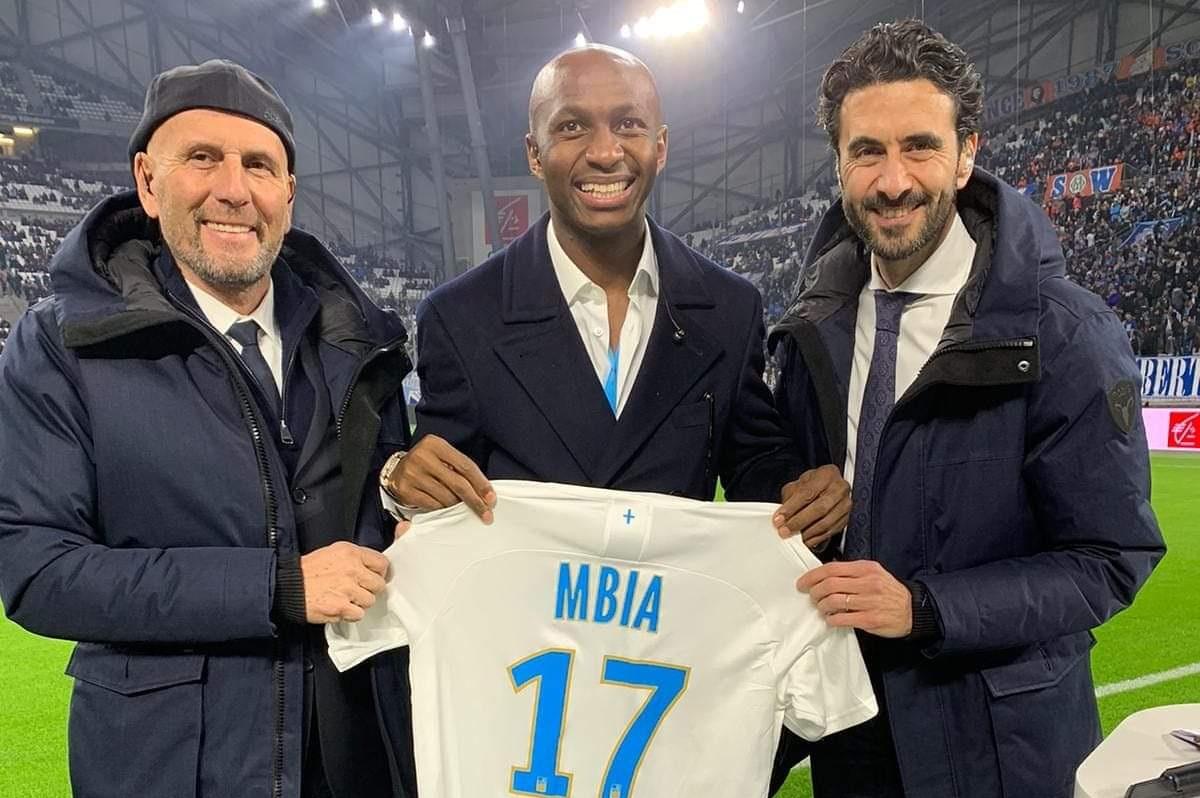 Football : Stéphane Mbia fait partie du top 11 de l'OM de ces 10 dernières années