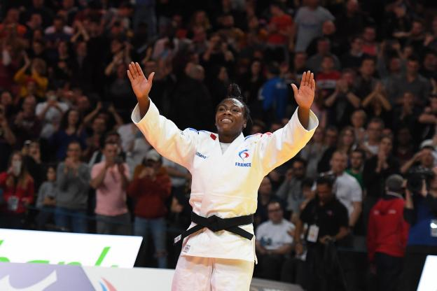 Judo/ Clarisse Agbegnenou décroche l'or au Grand Slam de Paris