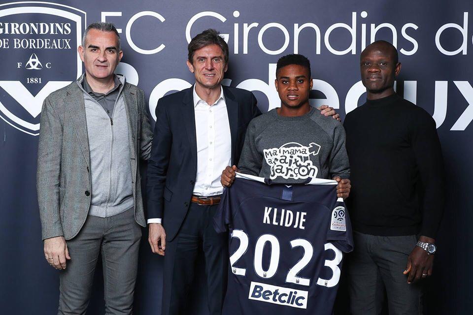Football-Togo/Klidjè Thibault chez  les Girondins de Bordeaux pour 3 ans