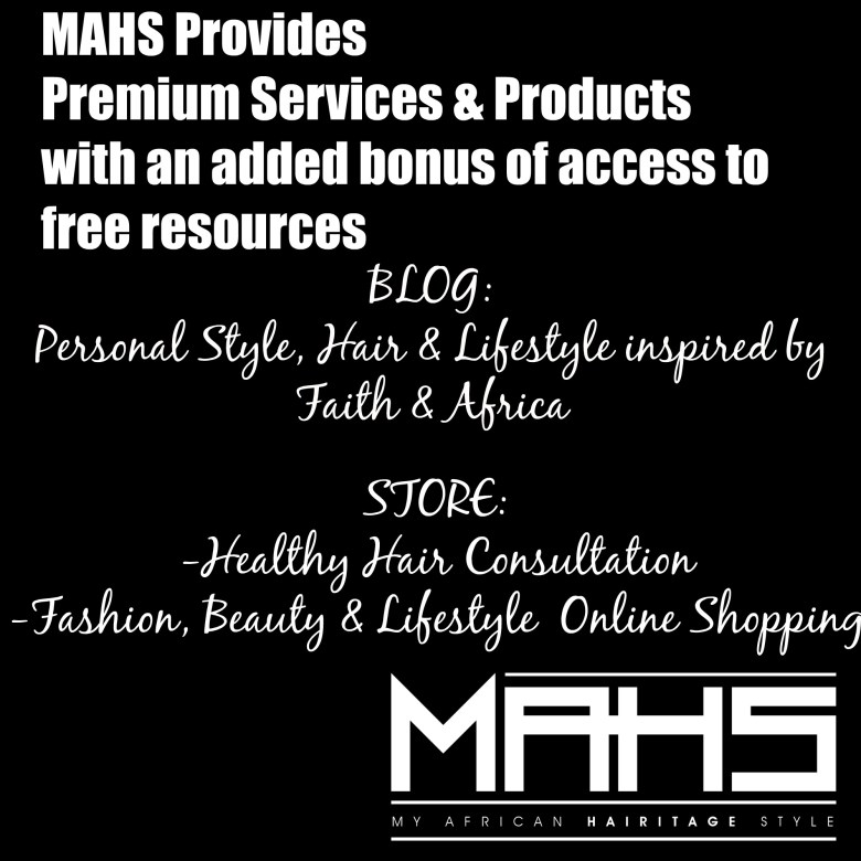 MAHS Manifesto