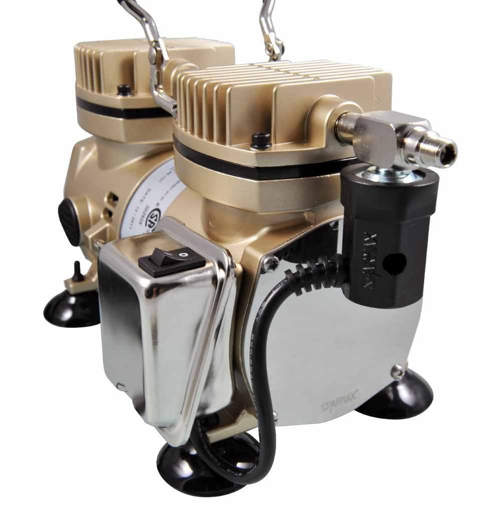 Review: Sparmax TC2000 Stormforce Compressor | Airbrush compressor