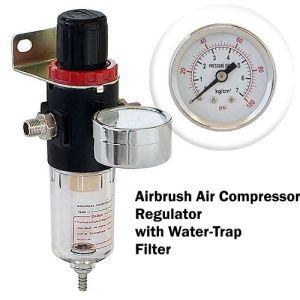 airbrush compressor regulator