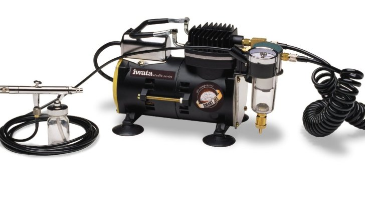 Iwata-Medea Studio Series Smart Jet Single Piston Air Compressor Review