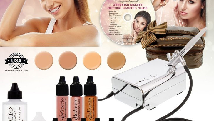 November hottest – Top 5 Airbrush Makeup Kits for November 2017