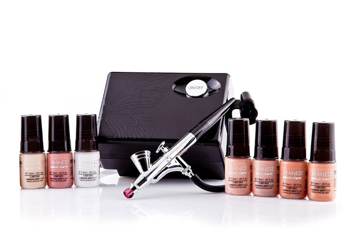 Luminess Air Basic Airbrush System with 7-Piece Airbrush Foundation & Cosmetic Starter Kit review