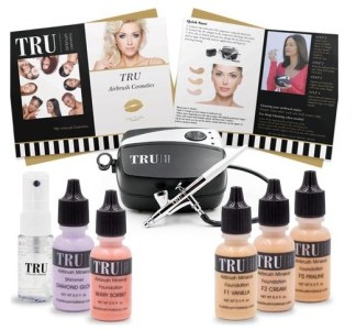 TRU Essentials Airbrush Makeup Kit