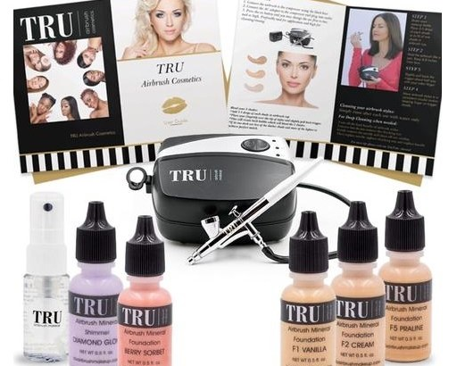 TRU Essentials Airbrush Makeup Kit – review