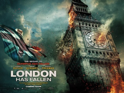 The Movie Corner London Has Fallen
