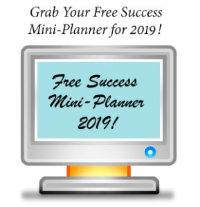 Free Success Mini-Planner 2019!