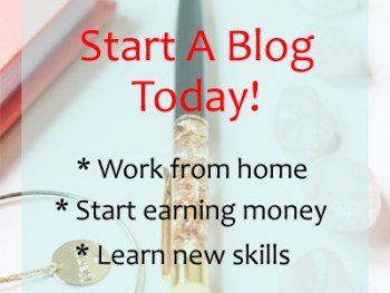 Permalink to: Start A Blog Today