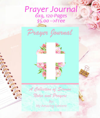 Prayer Journal - Easter Version