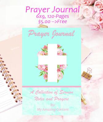 Prayer Journal - Easter Version