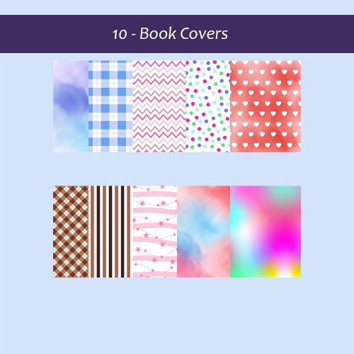 10 Book Covers, Tags, and Spines