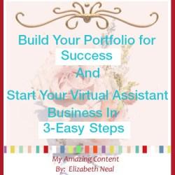 Build Your Portfolio for Success…
