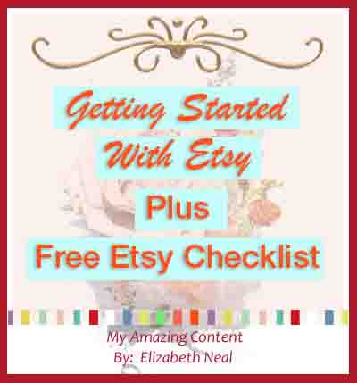 Getting Started With Etsy Today!