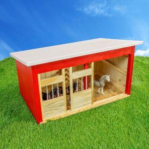 2 Stall Horse Barn