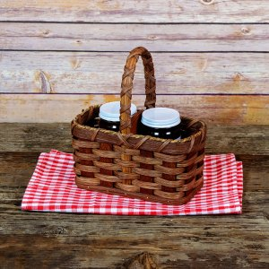Jelly Basket Brown