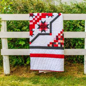 Amish and Mennonite Made Quilts - Lone Star