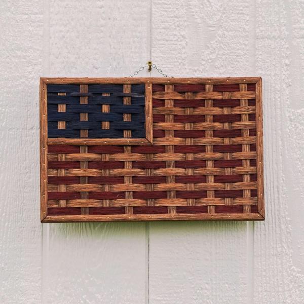Small Woven American Flag