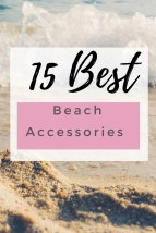 Check out our list of best beach gear and accessories for your next trip - from umbrella safes to hi-tech coolers, they're beach must-haves